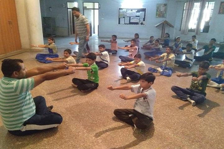 Handa Public School-Yoga