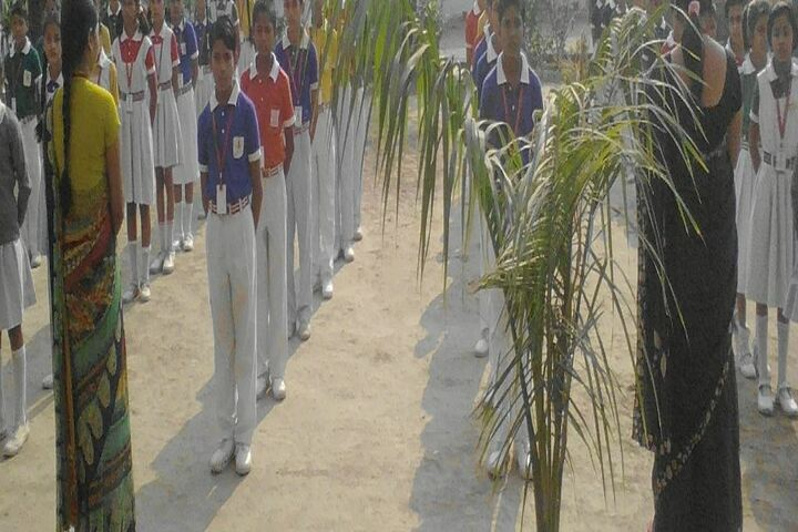 Hans Green Field Public School-Morning Assembly
