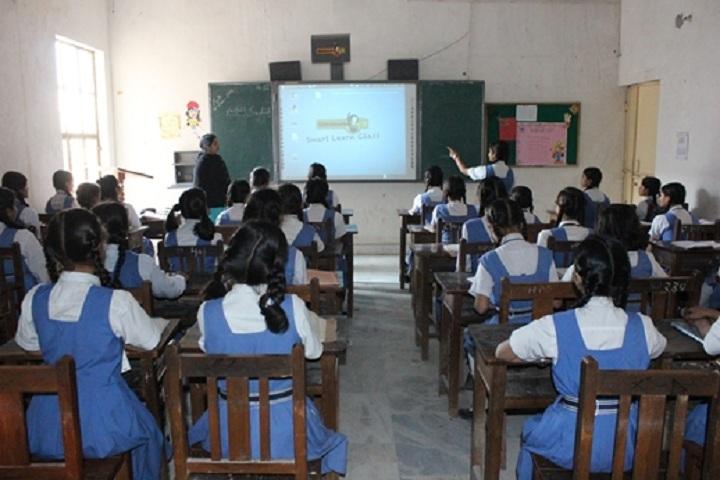 Hanuman Prasad Dhanuka Saraswati Balika Vidya Mandir-Classroom smart