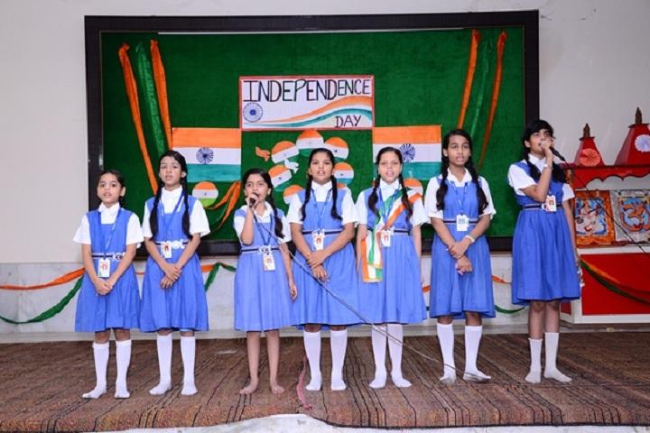 Hanuman Prasad Dhanuka Saraswati Balika Vidya Mandir-Events independance day