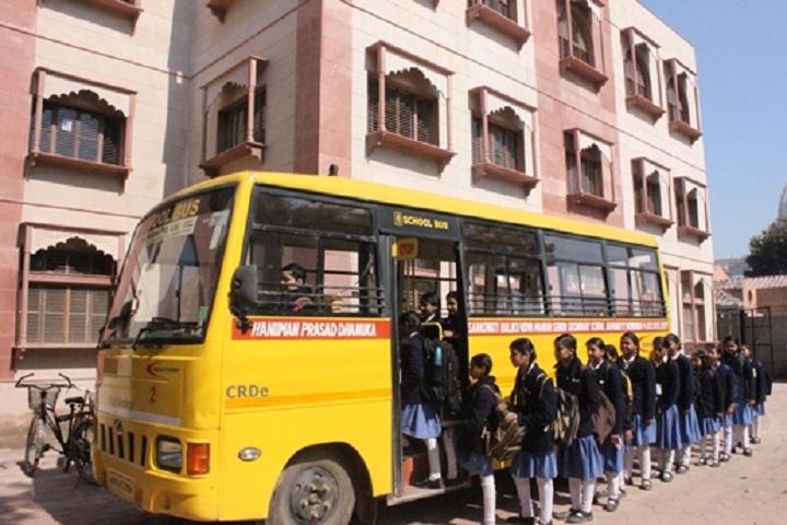 Hanuman Prasad Dhanuka Saraswati Balika Vidya Mandir-Transport