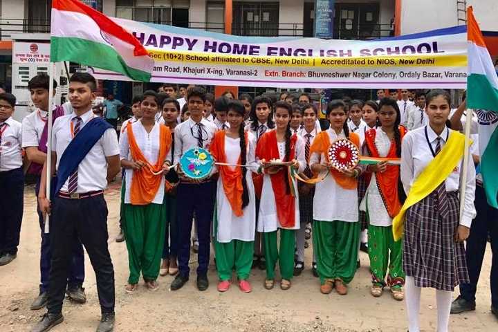 Happy Home English School-Independence Day