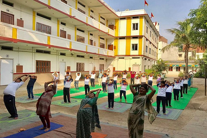 Happy Home English School-Yoga Activity