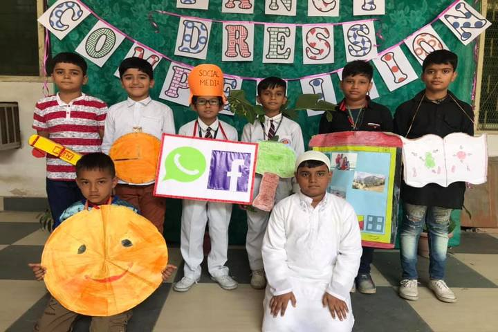 Happy Home English School-Fancy Dress Competition