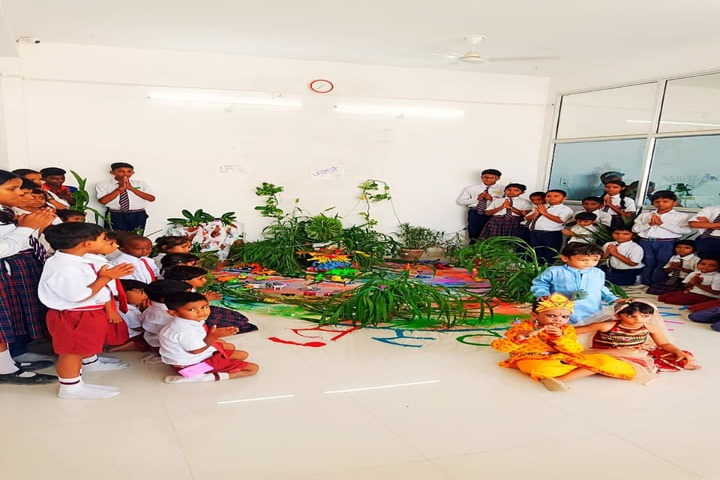 Happy Home English School-Janmashtami Celebration