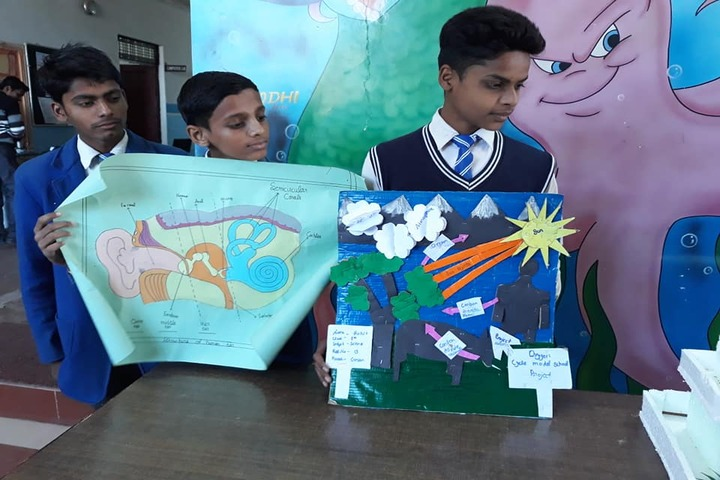 Hari Maya International School-Science Exhibition