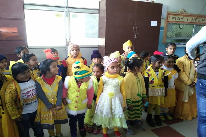 Hari Maya International School-Yellow Day