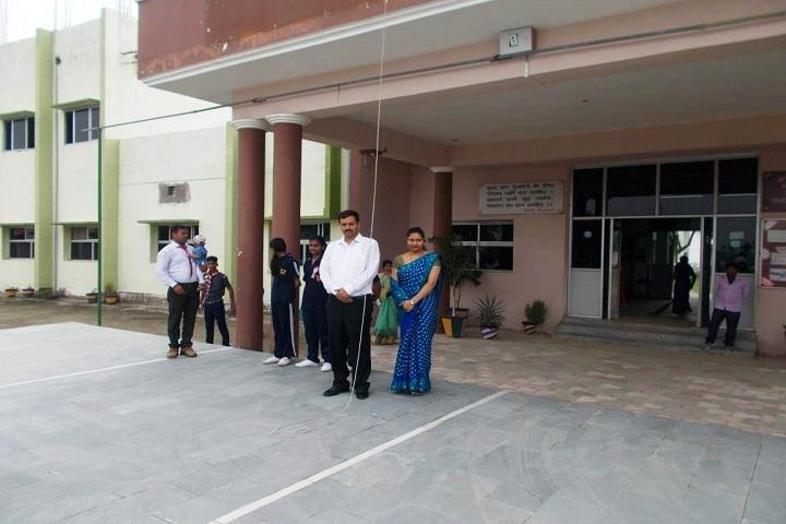 Harihar Singh Academy-Campus-View entrance