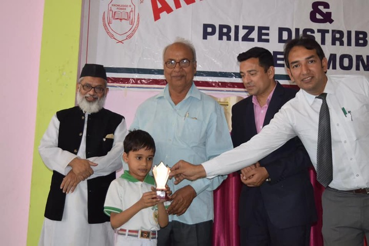 Heaven Garden Junior High School-Annual Prize Distribution
