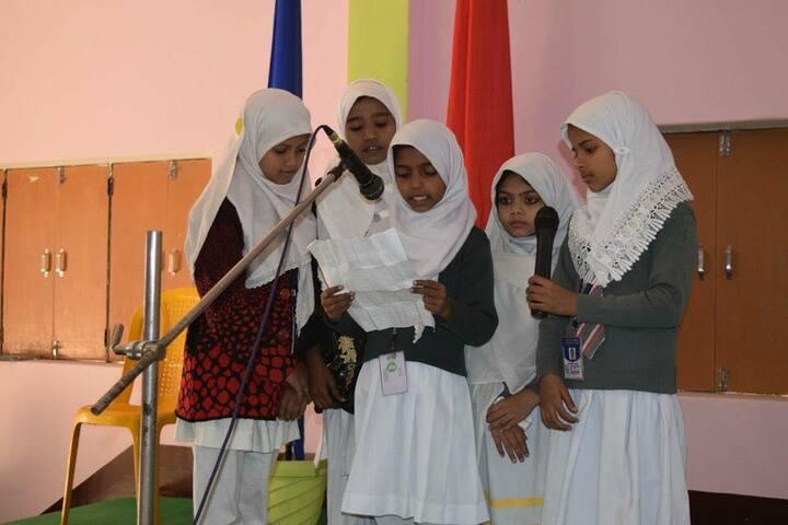 Heaven Garden Junior High School-Music Activity