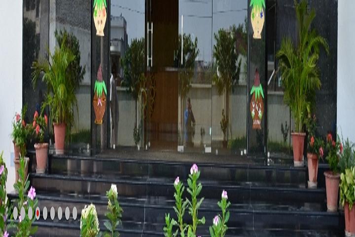 Heera Lal Patel International School-Campus-View entrance