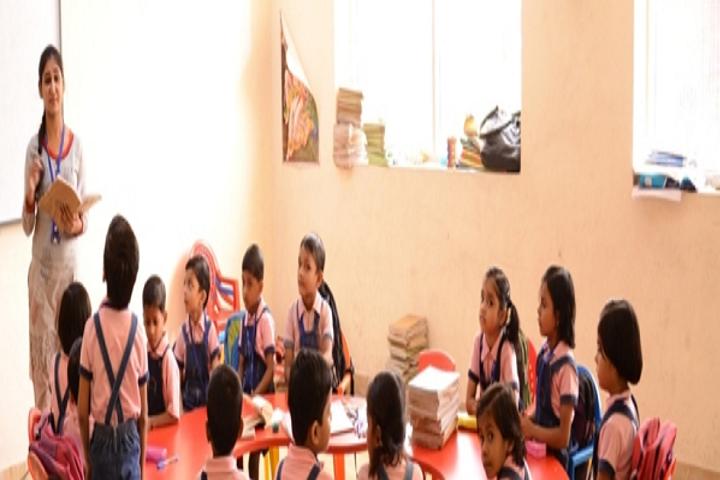 Heera Lal Patel International School-Classroom junior