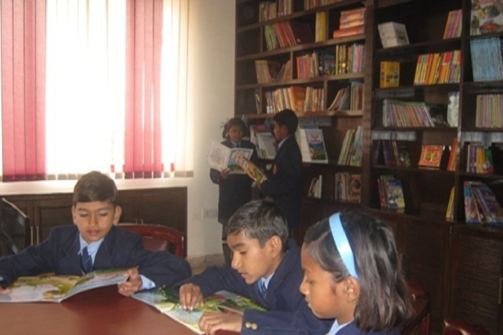 Hillwoods Academy-Library