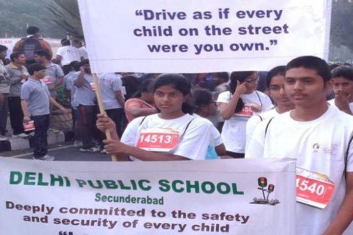 Delhi Public School-Traffic Awareness