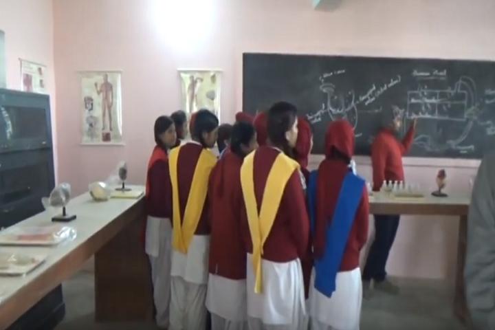 Holi Angels Public School-Biology Lab