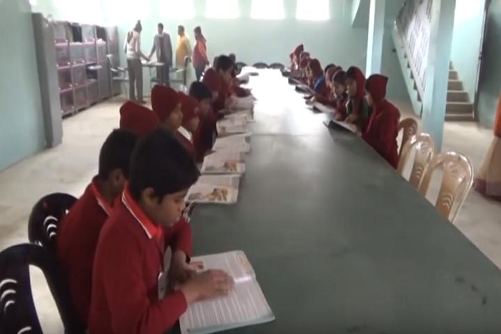 Holi Angels Public School-Library