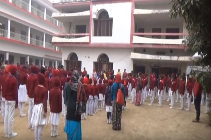 Holi Angels Public School-Assembly