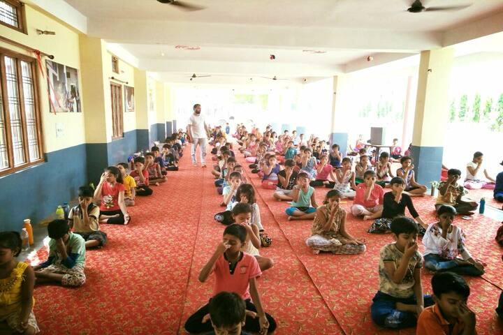 Holy Child Academy-Yoga