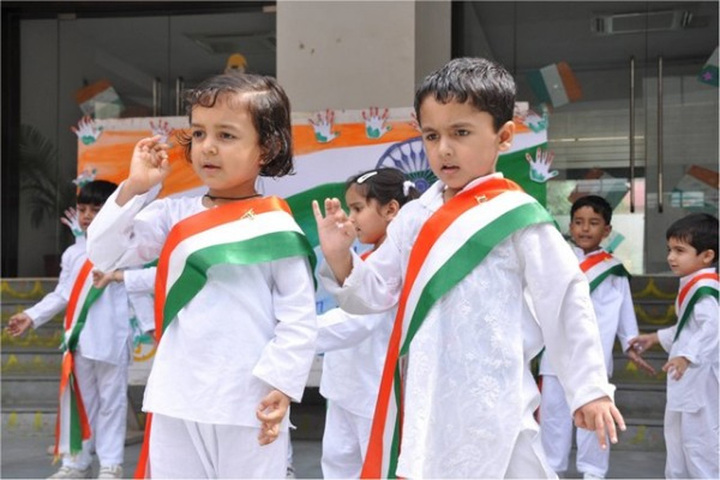 Holy Child Public School-Independence Day Celebrations