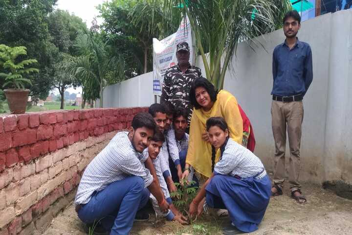 Holy Child Public School-Tree Plantation