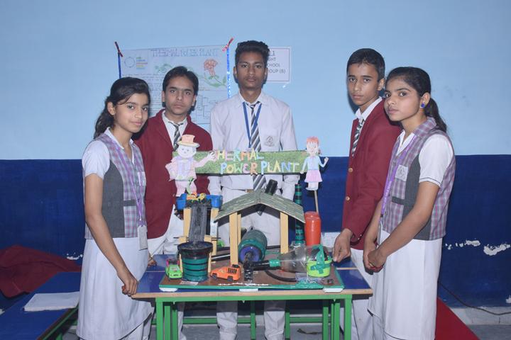 Holy Light Public School-Exhibition