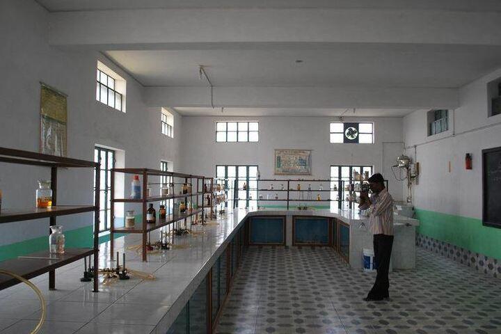 St Josephs School-Chemistry Lab