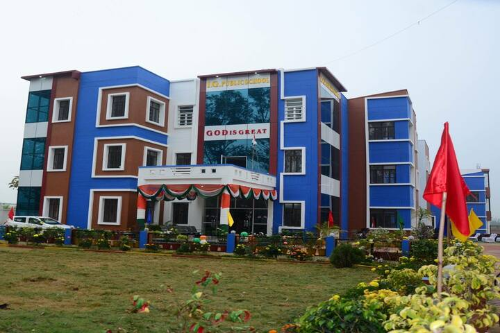 I G Public School-Campus-View
