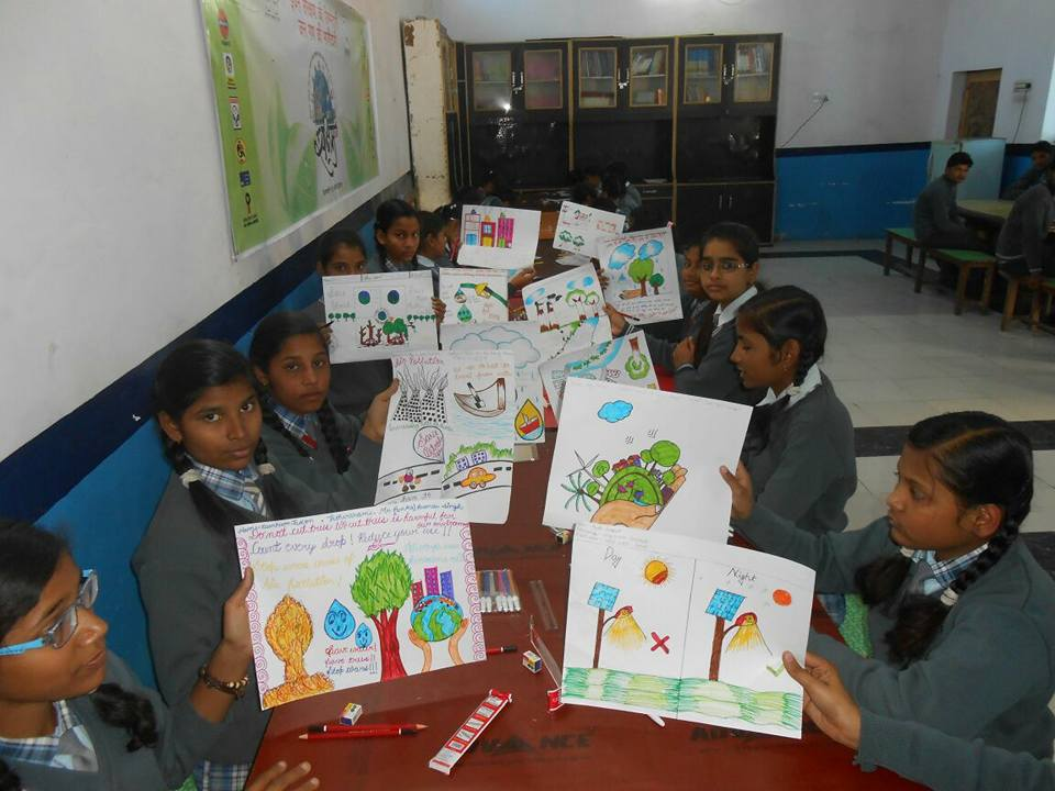 Ideal Public School-Painting Competition