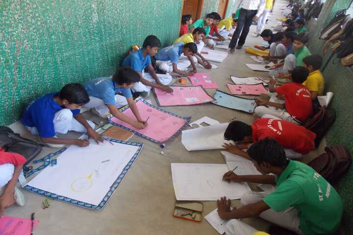 St Marys School-Drawing Activity