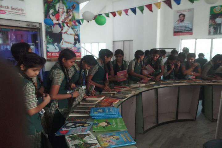 Indra Memorial Public School-Book-Fair