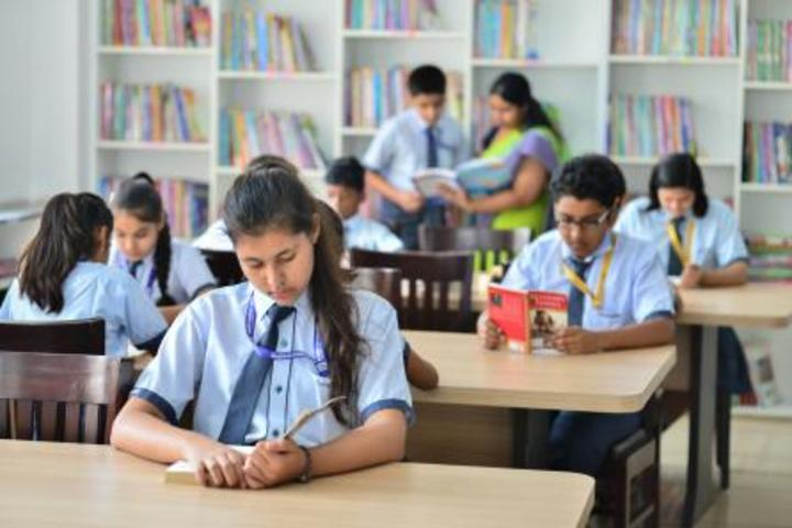 Indraprastha Global School-Library