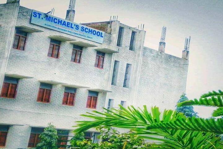St Michaels School Lalganj-Building