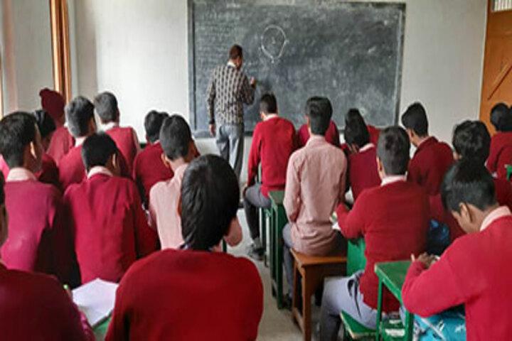 St Michaels School Lalganj-Classroom