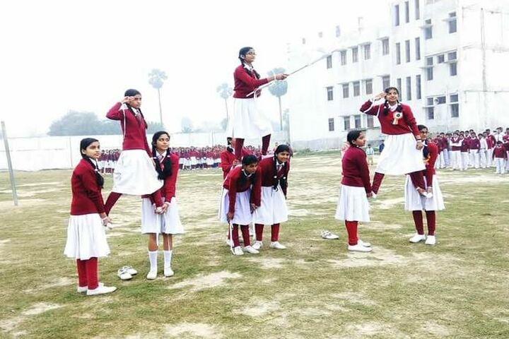 St Michaels School Lalganj-Dance