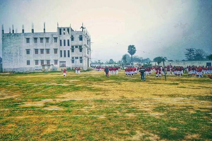 St Michaels School Lalganj-Play Ground