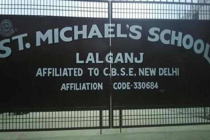 St Michaels School Lalganj-School Gate