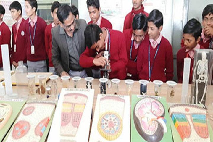 St Michaels School Lalganj-lab