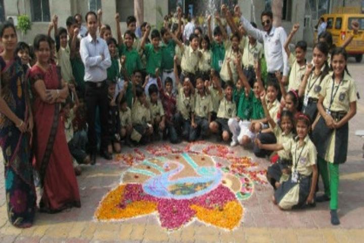 Indus Valley Public School-Rangoli
