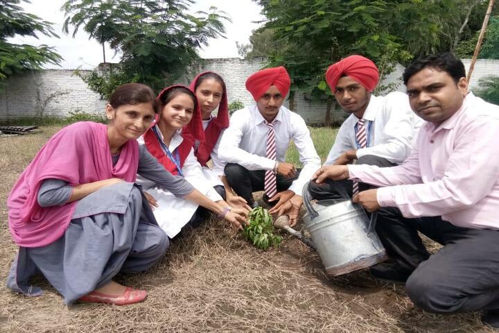 Isher Academy-Tree Plantation