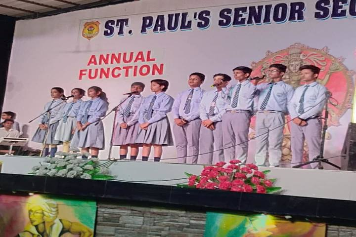 St Pauls School-Group Song