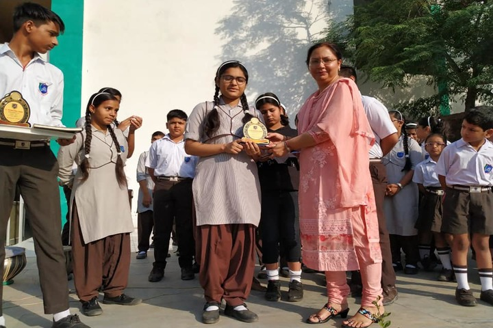 J P International School-Prize Distribution