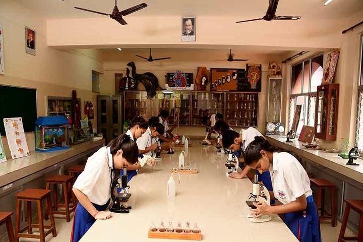 J P International School-Biology Lab