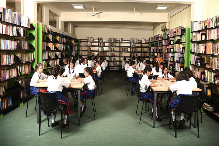 J P International School-Library