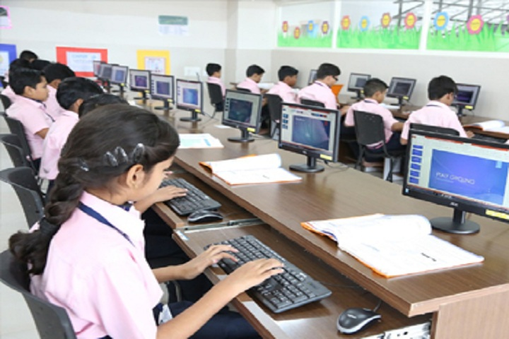 J P Public School-Computer Lab