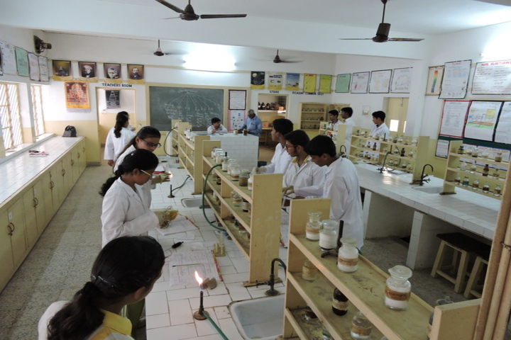 J B Academy-Chemistry Lab