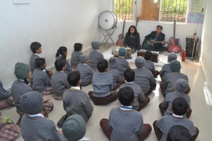J K Mittal Academy-Music room