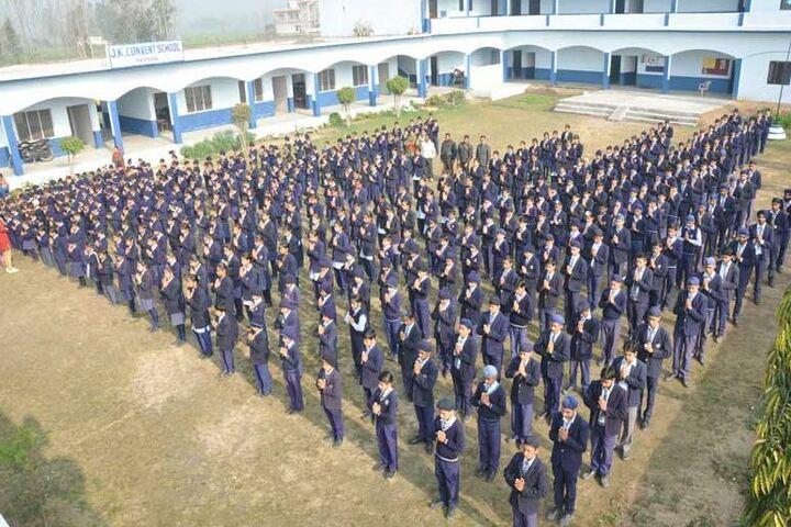 J K Convent School-Assembly