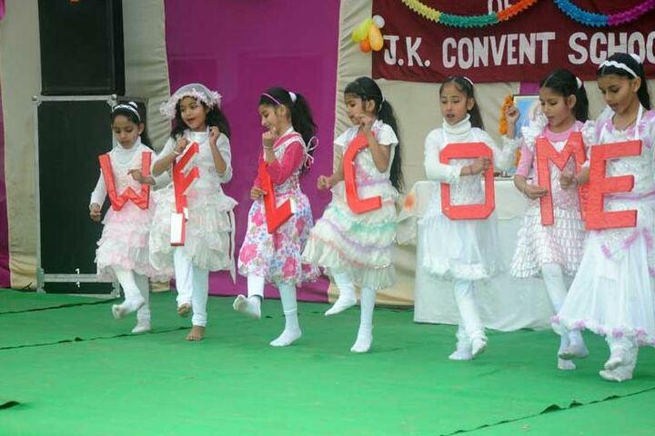 J K Convent School-Dance