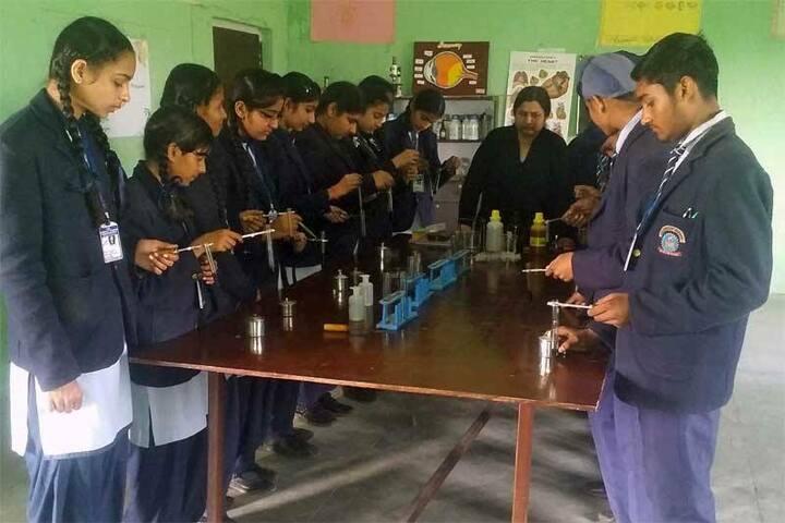 J K Convent School-Laboratory