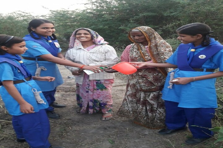 Jawahar Navodaya Vidyalaya-Donation Camp